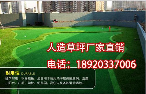 高尔夫球场人工草皮【涵天】幼儿园人造草坪厂家案例图片