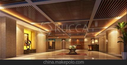 肃州区冬季装修300*9、25*80生态木天花吊厂家