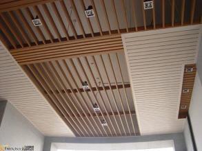 麦积区冬季装修300*9、25*80生态木天花吊厂家