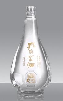 兴宁白酒瓶批发市场500ml保健酒瓶生产厂家晶白高档酒瓶价格