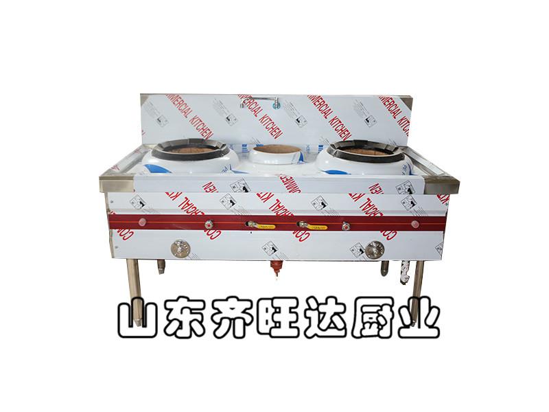 两炒一温燃气灶生产厂家山东【齐旺达厨业】