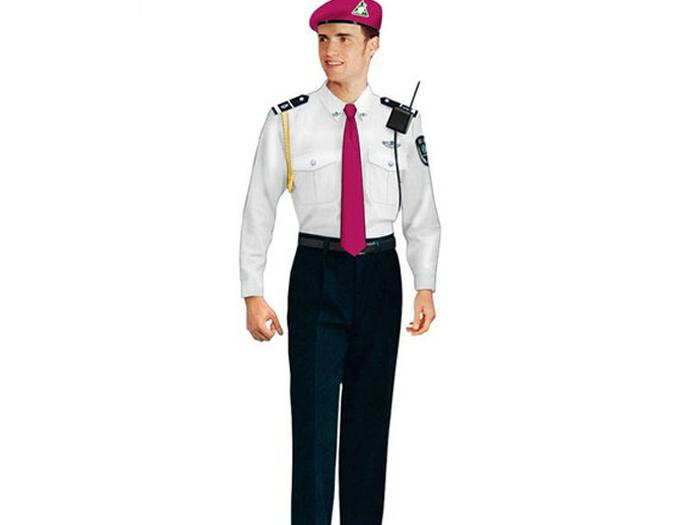 固原工服想要买保安服就来宁夏意诺布朗服饰