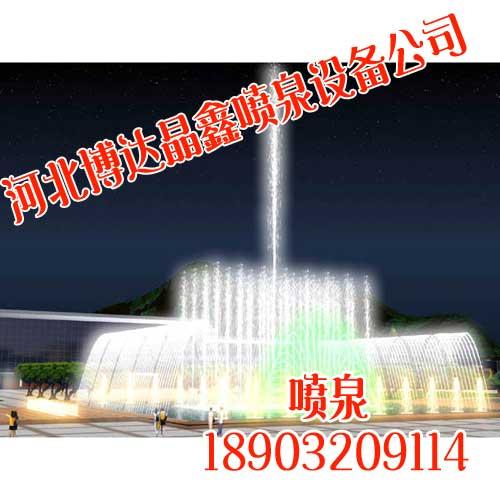 宁夏水景喷泉制作【博达晶鑫】创意喷泉设计施工