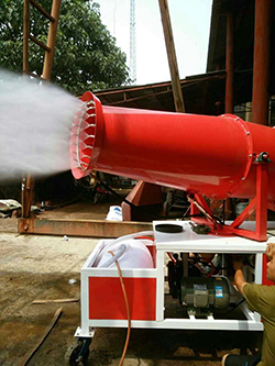 通州工地降尘除尘喷雾机、建筑工地雾炮机专业快速