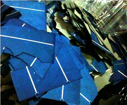 碎电池片回收 蓝膜片回收 光伏电池片回收