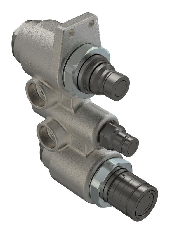 FASTER液压接头扁平阀门类型液压接头6BM6DVPV