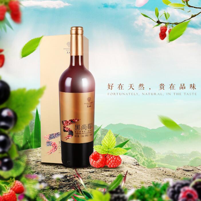 供应树莓果酒干红系列欧洲红750ml红树莓黑莓红酒原装
