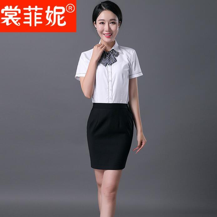 2017春季新款职业西装短裙 商务聚会修身包臀半身裙