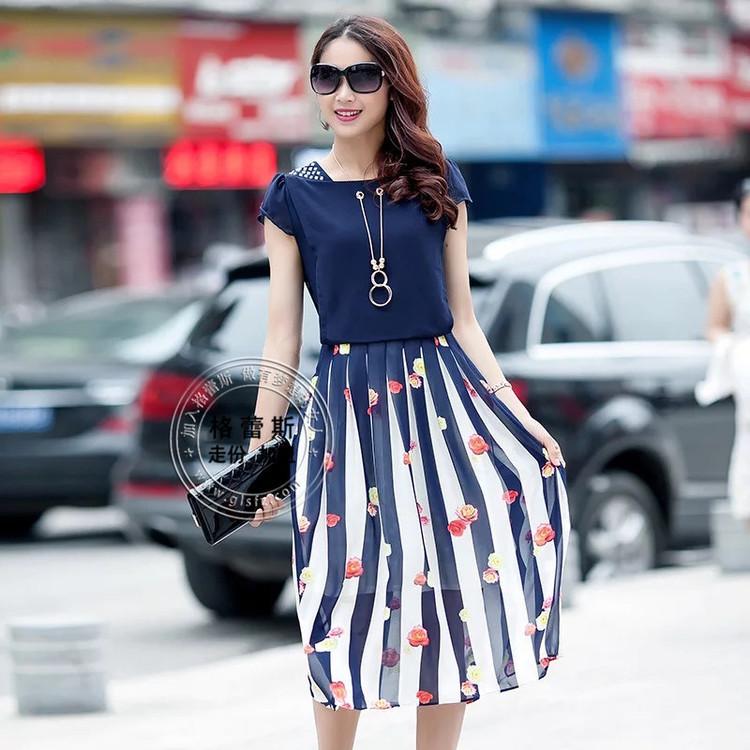 大码女装艾薇儿、年轻时尚大版连衣裙尾货库存批发