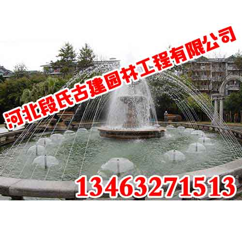 邯郸喷泉工程、河北段氏园林、不玩套路、只看品质