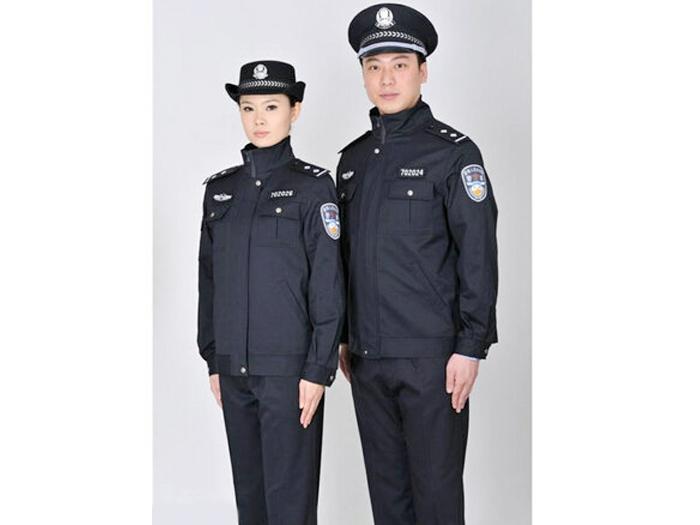 保安服批发哪家实惠、石嘴山服装加工哪家优惠