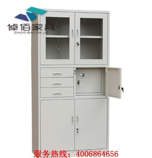 山东铁皮文件柜ZYG-09 铁皮柜价格尺寸 倬佰家具