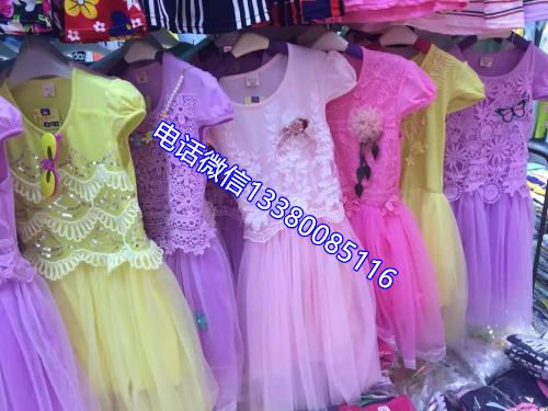 沙河女式裙子尾货批发沙河女童裙子尾货厂家
