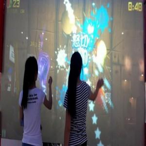 温州互动投影砸球 墙面投影感应制造厂家