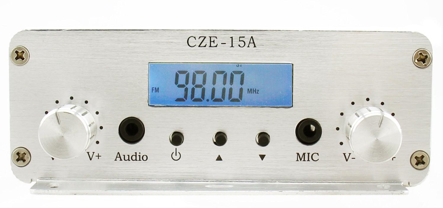校园广播 CZE-15A 立体声音质调频广播fm无线发射机