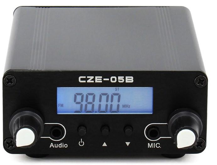 无线广播CZE-05B 500米距离 0.5W立体声调频发射机