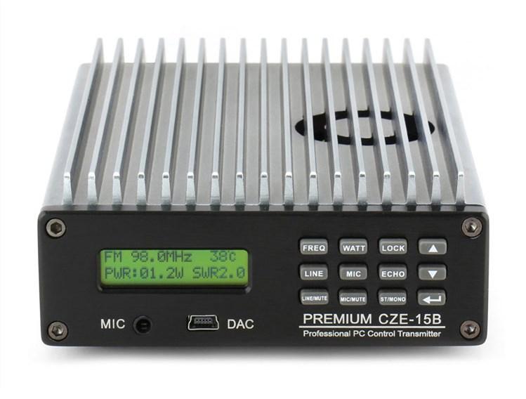 汽车影院专用发射机 CZE-15B 立体声调频fm无线高音质发射机15W发射