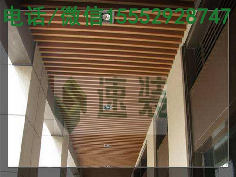 安徽滁州生态木天花安装