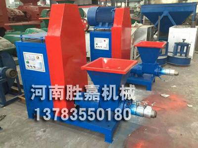 阜新胜嘉机械厂生产的煤棒机设备提供一流的技术服务