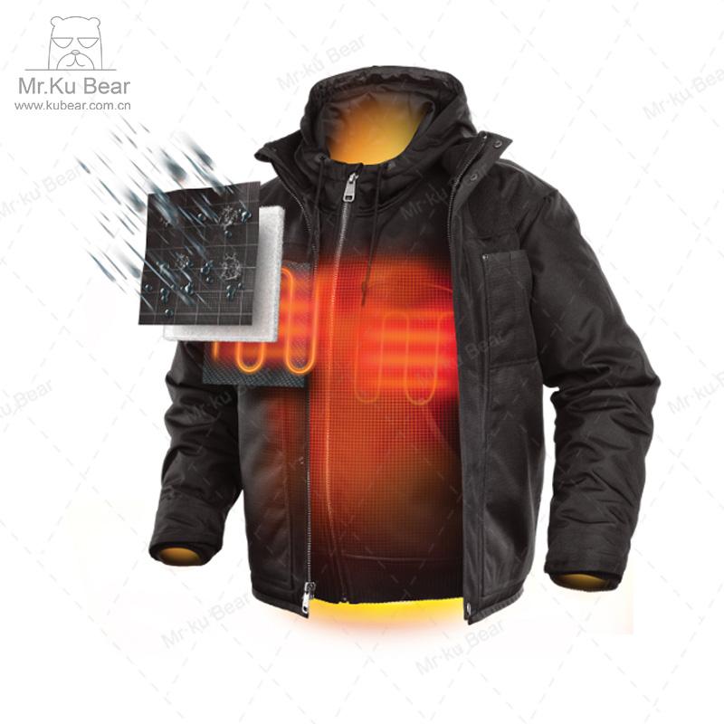 电热衣服、发热服装、电热服、发热服、加热服、自发热