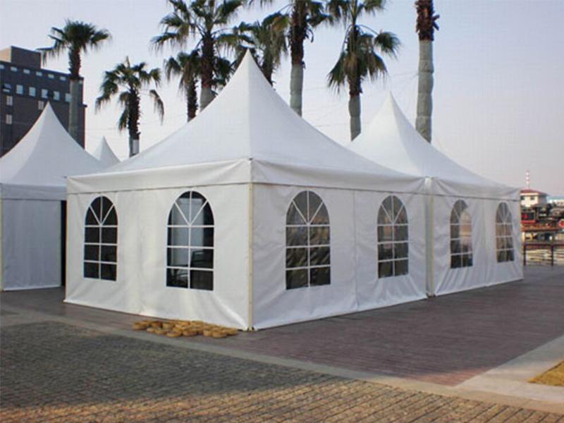 滁州知名的尖顶篷房供应商:安徽户外篷房供应商