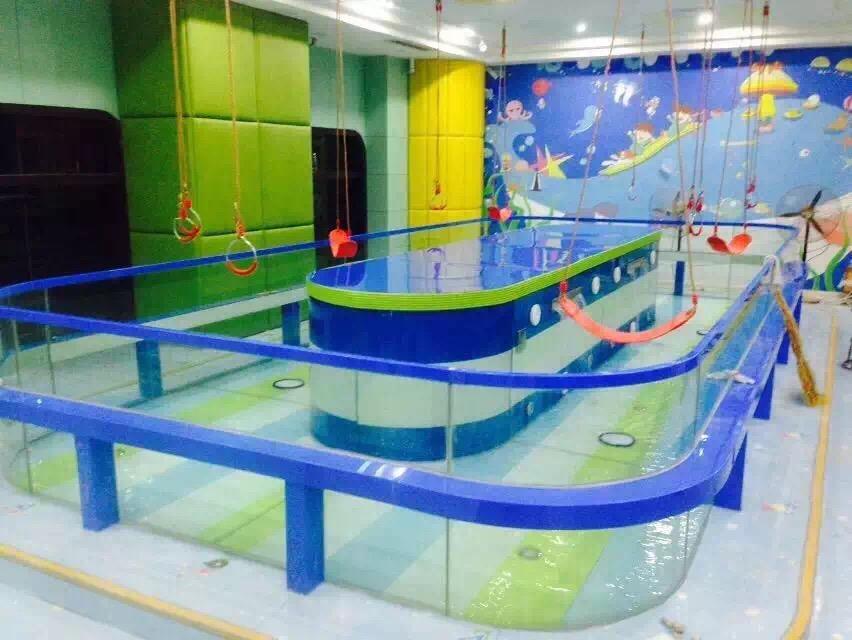 组装玻璃池