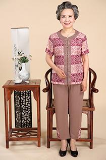 �K州雅仕�R供��合理的奶奶�b、�r髦的奶奶�b夏�b短袖套�b�l�y