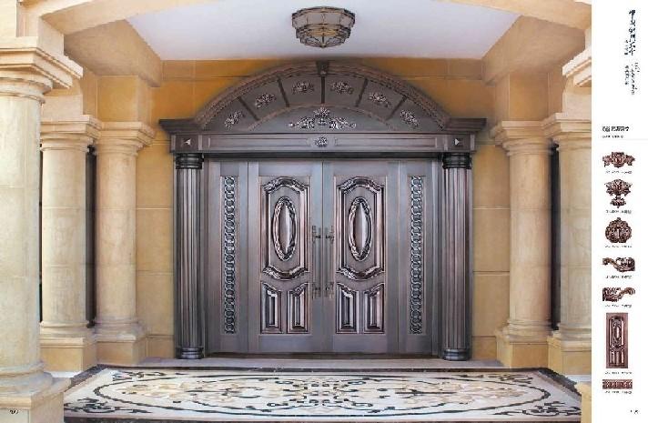 旺源仿铜门您的不二选择腾冠仿铜门