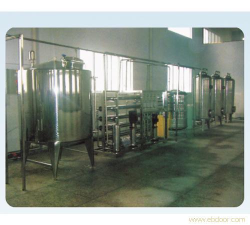上海松江3T/H双级反渗透设备反渗透水处理设备工业纯水装置