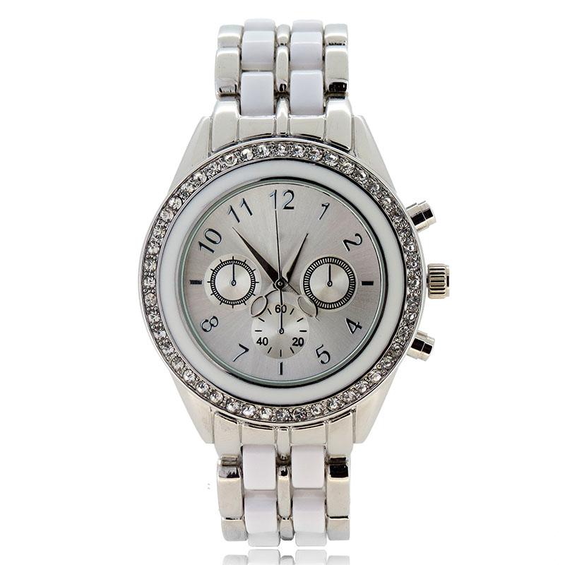 时尚女士镶钻石英手表【稳达时】礼品定制供应