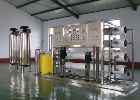 上海大河人家2T/H工业纯水装置反渗透水处理设备 反渗透净水机