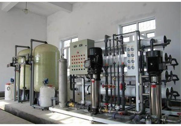 上海大河人家3T/H工业纯水系统 反渗透纯水机工业纯水装置