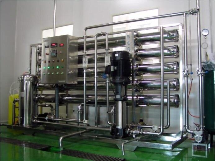 大河人家3T/H反渗透水处理设备工业纯水设备工业纯水装置