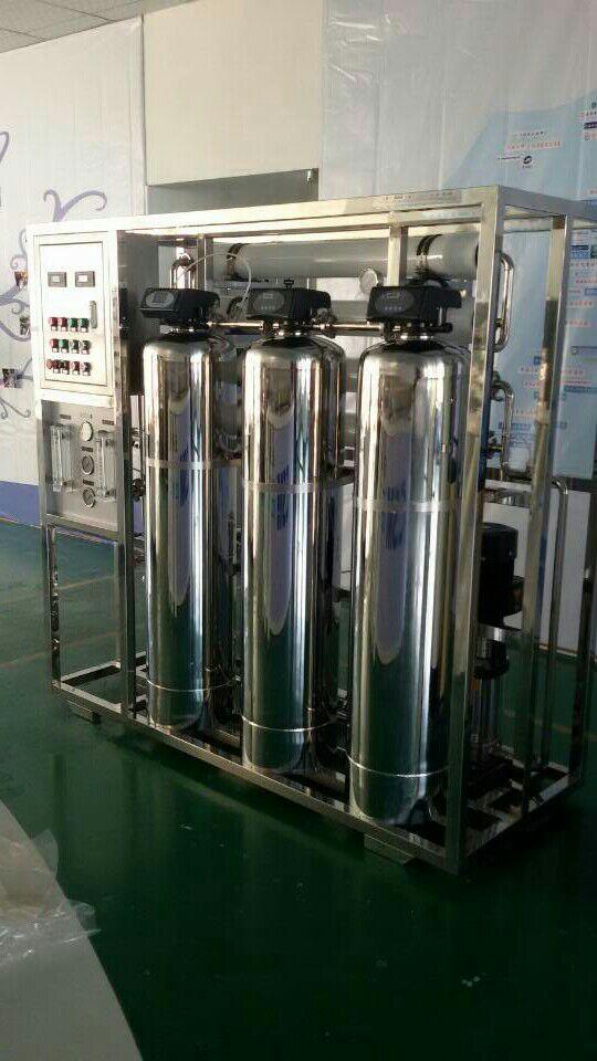 大河人家1T/H工业纯水装置反渗透纯水设备工业纯水设备