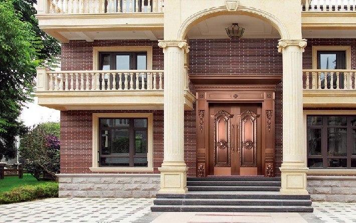 铜门安装品质好的铜门上哪买