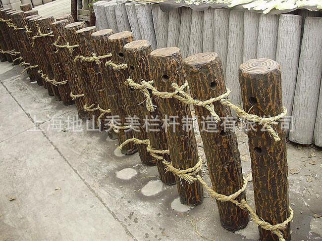 上海市仿树皮工艺栏杆生产厂家 新型材料领先技术