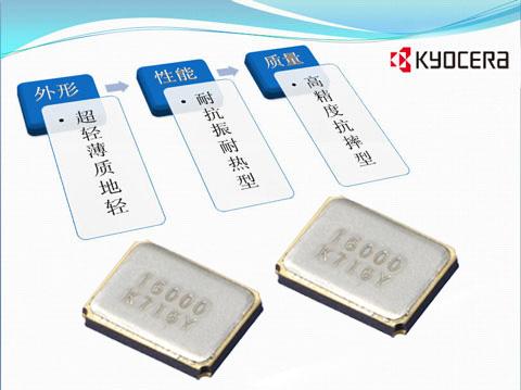 38.4MHz晶振、3225贴片晶振、CX3225SB、kyocera京瓷晶振