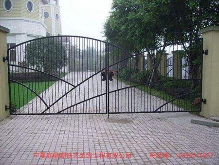 【厂家直销】银川品质好的铁艺大门固原铁艺大门