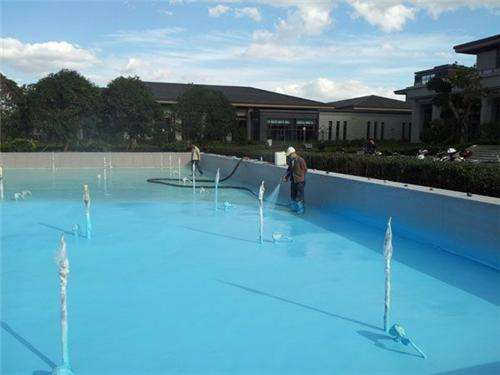 游泳池防水公司属广宏建筑防水专业:广西屋顶游泳池防水