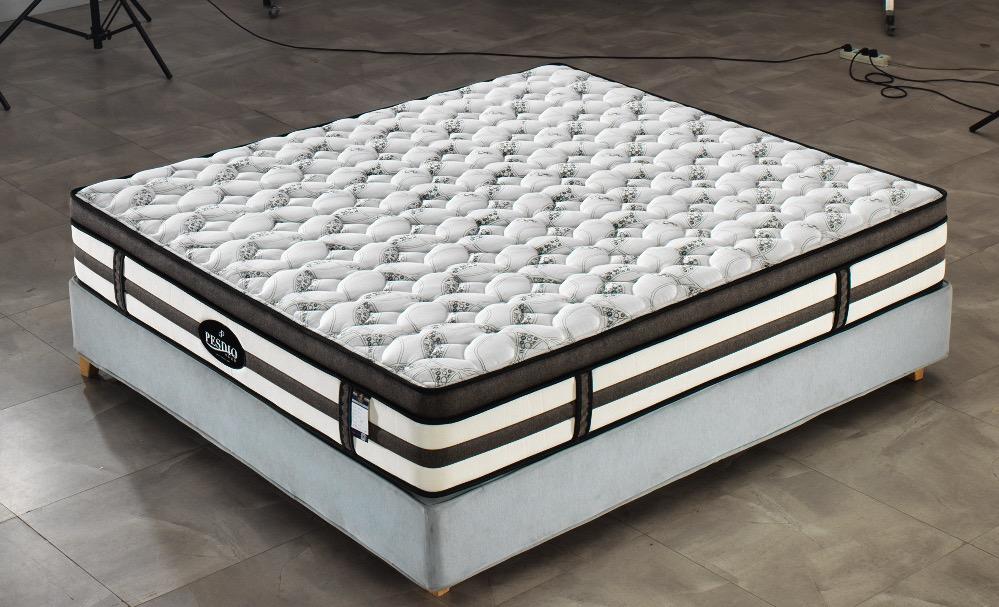 西安床垫公司博森迪奥床垫厂BS-8005酒店床垫批发弹簧软床垫定制