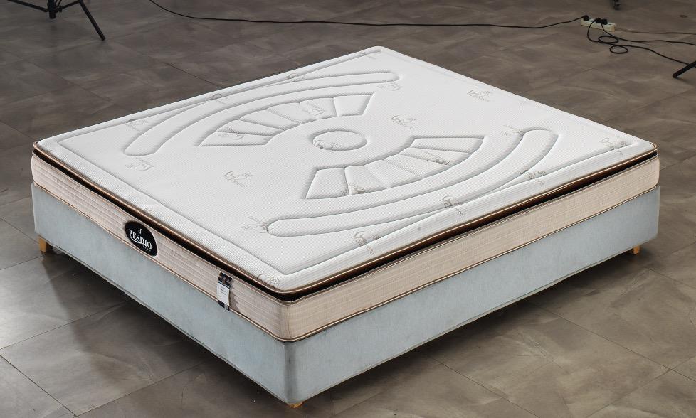 西安床垫公司博森迪奥床垫厂BS-8009酒店床垫批发记忆棉床垫定制