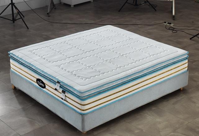 西安床垫公司博森迪奥床垫厂BS-8010C酒店床垫批发记忆棉床垫定制