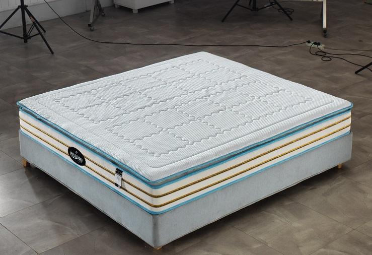 西安床垫公司博森迪奥床垫厂BS-8010B酒店床垫批发记忆棉床垫定制