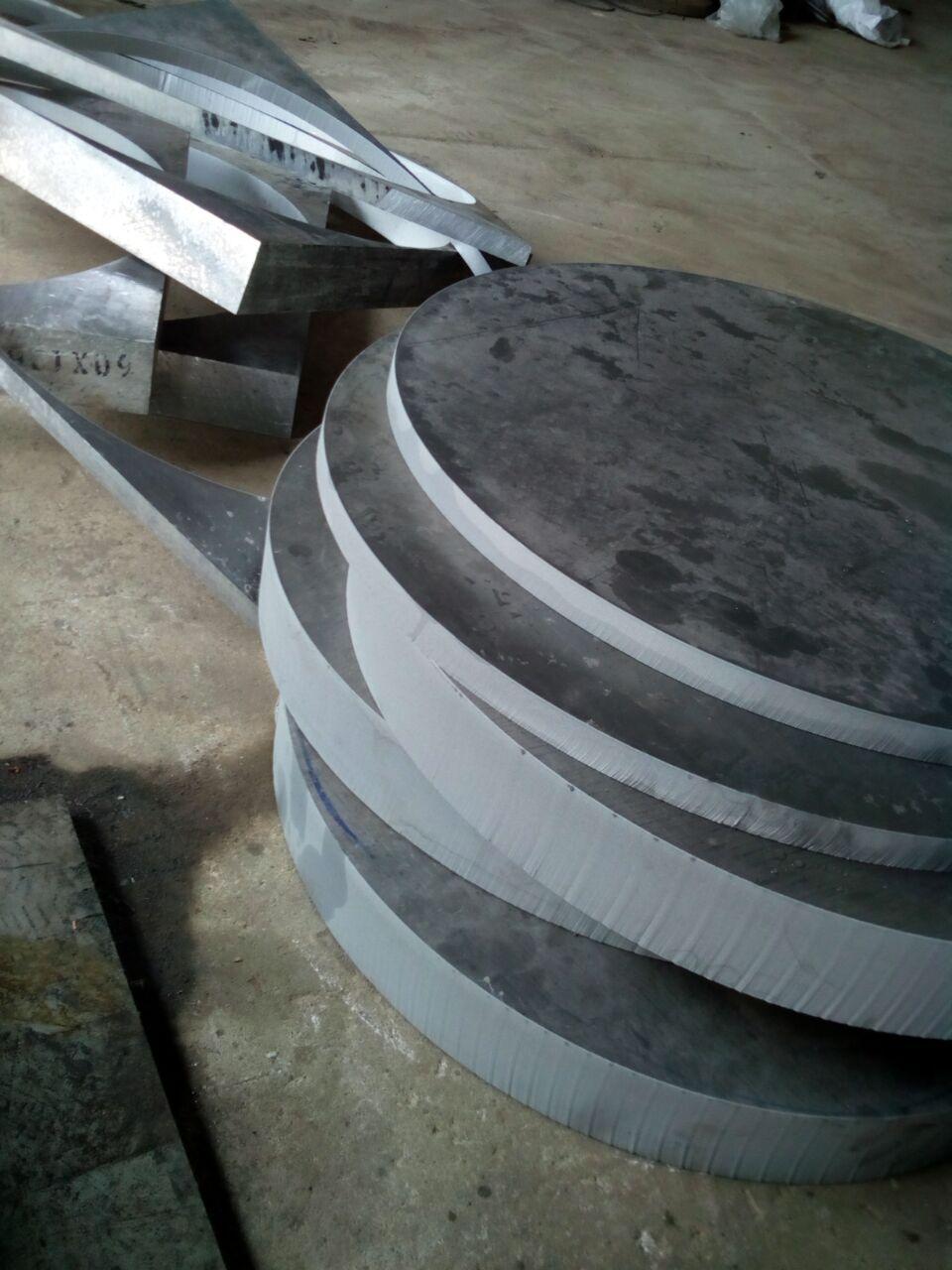 深圳铝板铜板水切割加工
