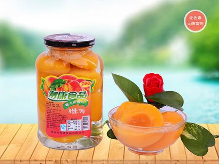 潍坊声誉好的小罐头供应商 黄桃罐头批发