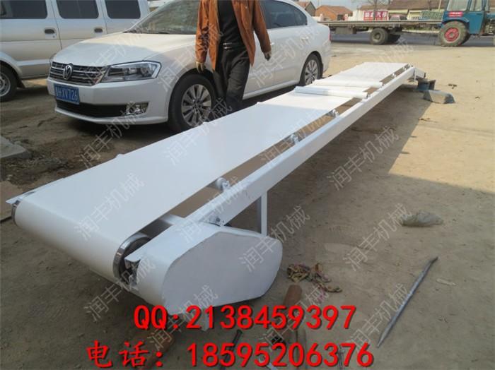 华蓥移动式皮带输送机厂家华蓥加厚耐磨优质带式输送机