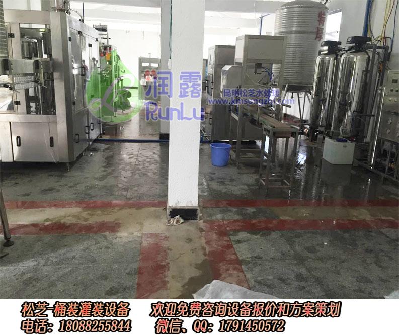 香格里拉市桶装矿泉水灌装机设备报价18088255844