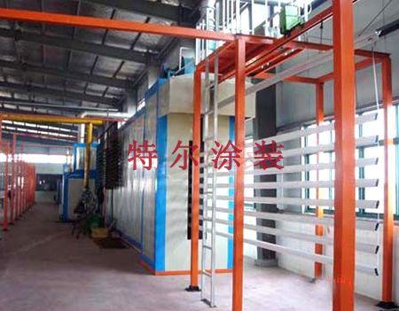 潍坊专业的铝型材喷粉生产线 铝型材喷粉生产线厂家