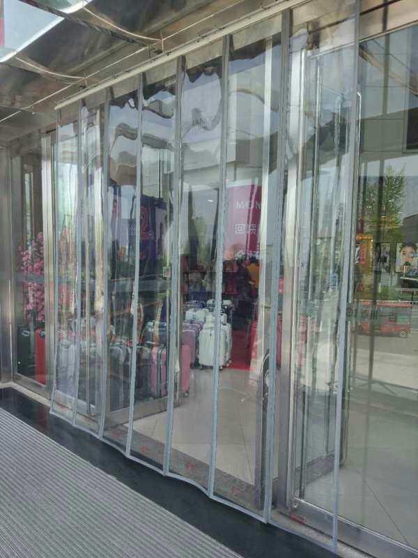 优乐国际娱乐平台高档pu棉门帘厂家电话l暖又馨帘业i18733668235