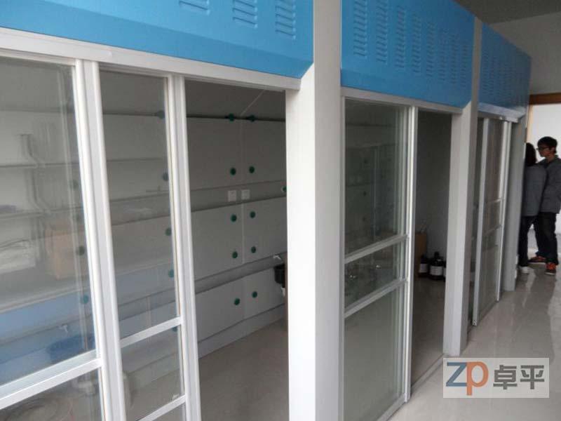 出售走入式通风柜、广州优质全钢-走入式通风柜、认准广州卓平实验设备
